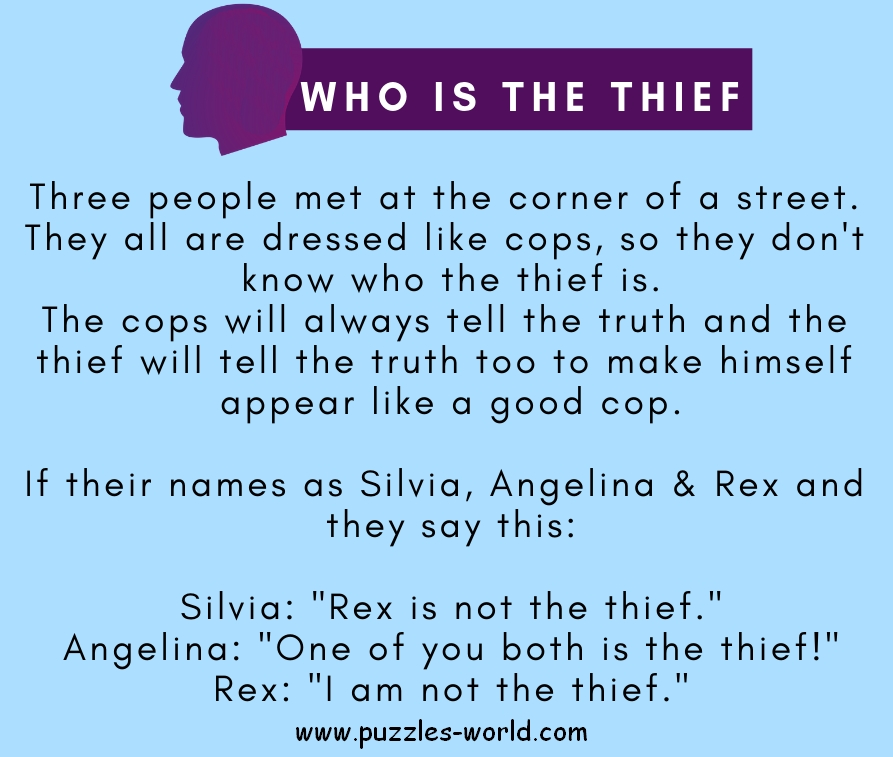 Who is the thief ?