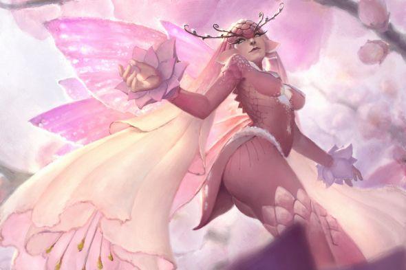 Nick Gan artstation arte ilustrações fantasia mulheres