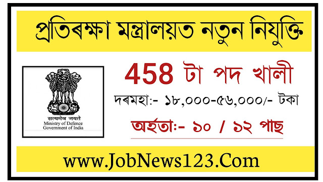 Ministry of Defence Recruitment 2021: