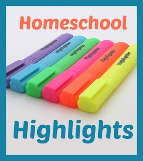 Homeschool Highlights - a weekly homeschool link-up hosted by Homeschool Coffee Break @ kympossibleblog.blogspot.com