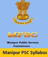 Manipur PSC Syllabus