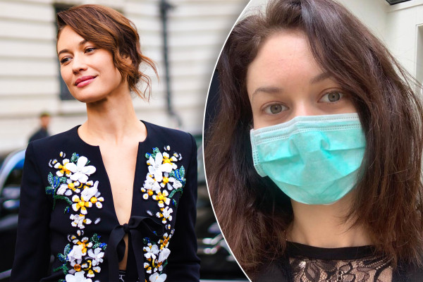 Bond girl Olga Kurylenko says she has 'completely recovered' from coronavirus