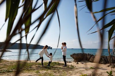 沖縄 ロケーションフォト 家族写真 恩納村 海
