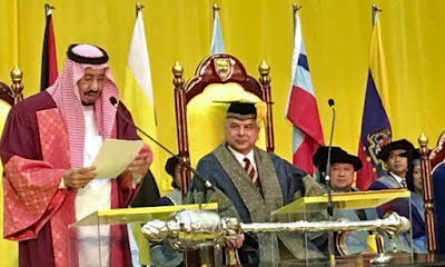 King Salman Awarded Honorary Doctorate By Top Malaysian University