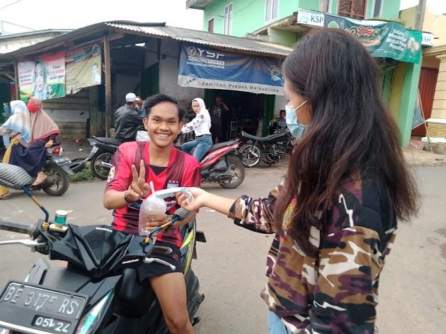 FKPPI Kedondong, Bagikan Ratusan Takjil