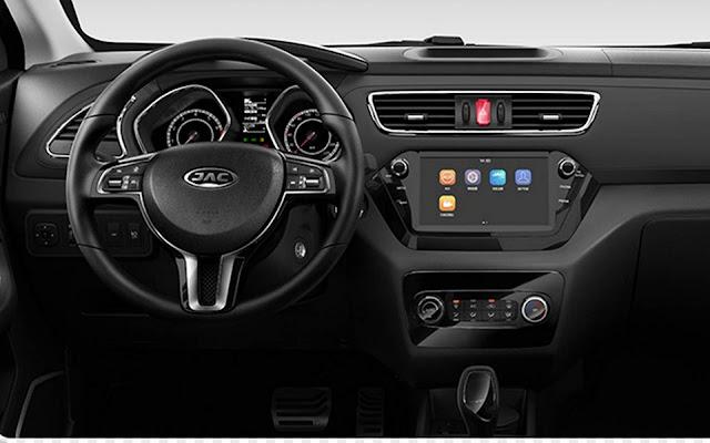 Novo JAC T40 1.6 Flex Automático CVT 2019 - interior