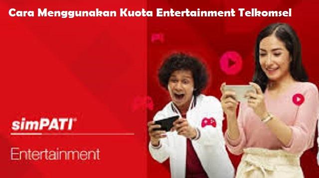 Kuota Entertainment Telkomsel