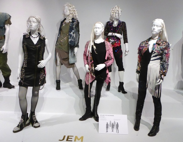 Jem and the Holograms movie costumes