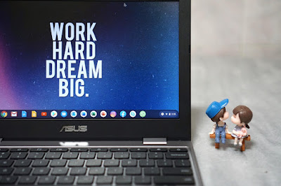 work hard and dream big