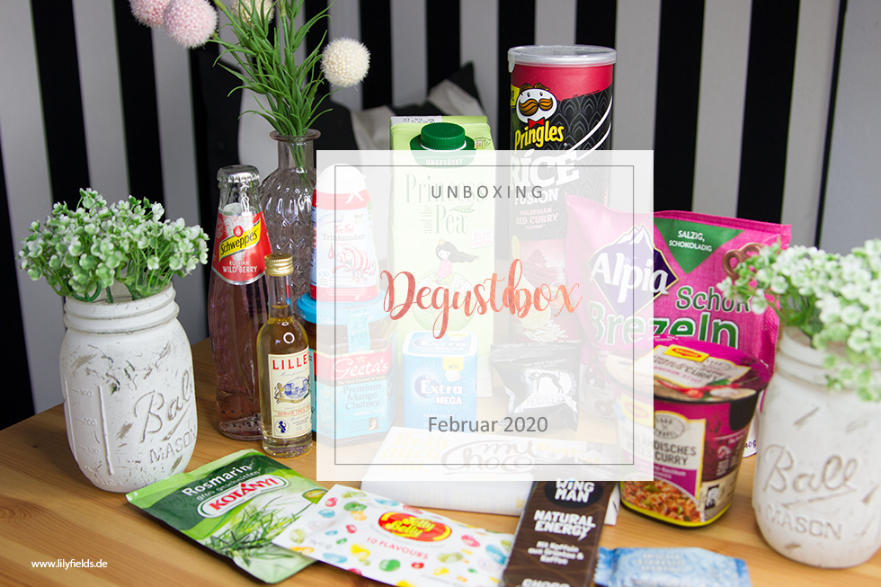 Degusta Box - Februar 2020 - unboxing