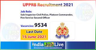 upprb-recruitment-2021-apply-9534-posts-sub-inspector-civil-police-platoon-commander-fsso-job-vacancies-online-indiajoblive.com