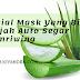 Facial Mask Yang Bikin Wajah Auto Segar Semriwing - NuFace Sheet Mask