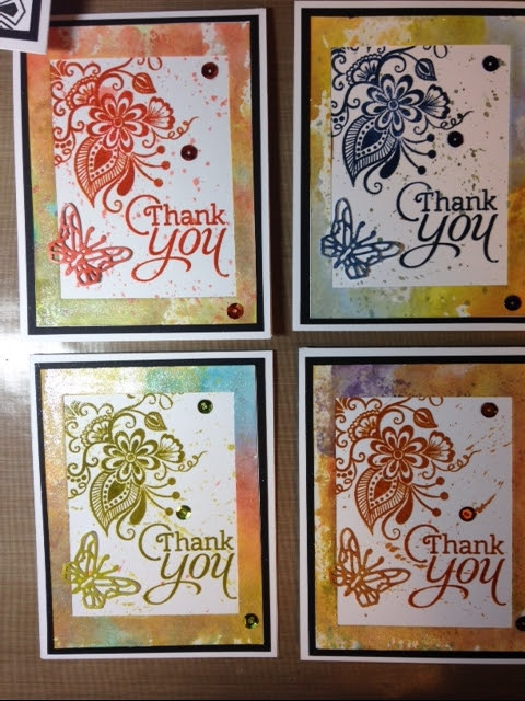 Please Vote for Me! Cards from the Beautiful World Stamp of Approval Box