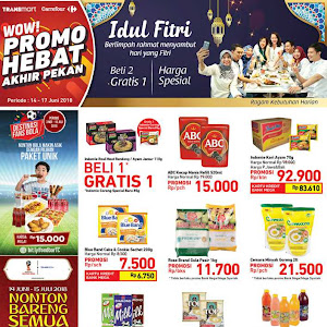 Katalog Promo Carrefour Weekend 14 - 17 Juni 2018
