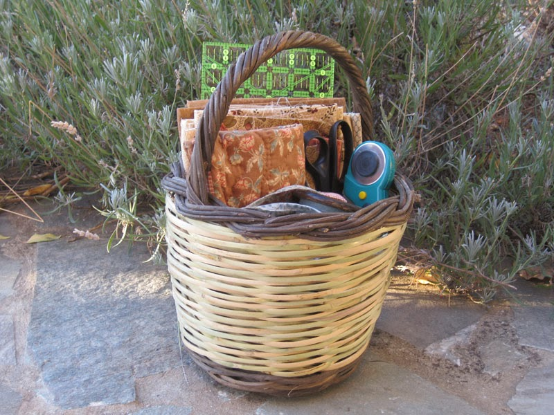 Quilter's basket