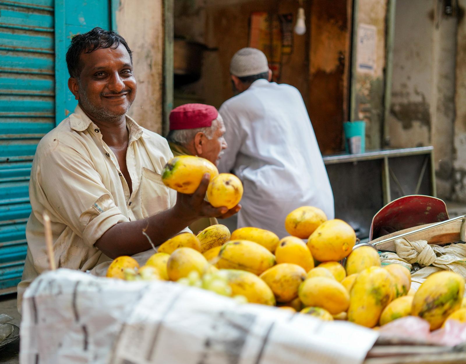 Chaunsa Mangoes, Pakistan