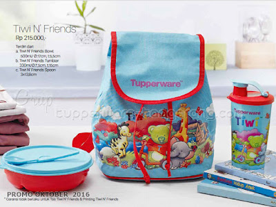 Tiwi n Friends  ~ Tupperware Promo Oktober 2016