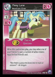 My Little Pony Pinny Lane, Bowl'em Over Canterlot Nights CCG Card