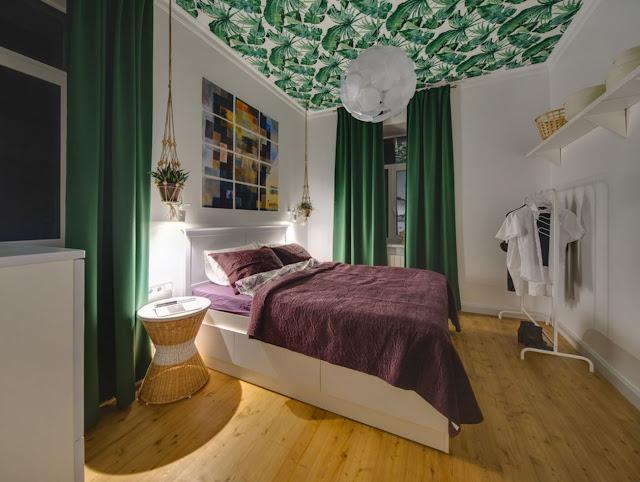 """Принт — модный тренд """"ботаника"""" в твоей спальне!"""