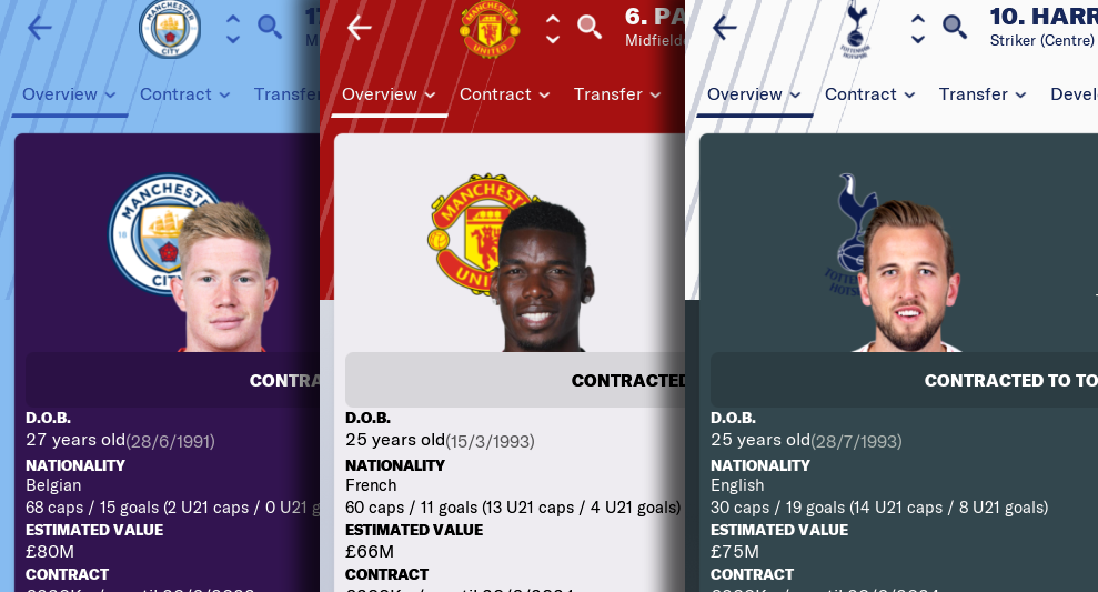 FM 2019 Cut Out Player Faces Megapack