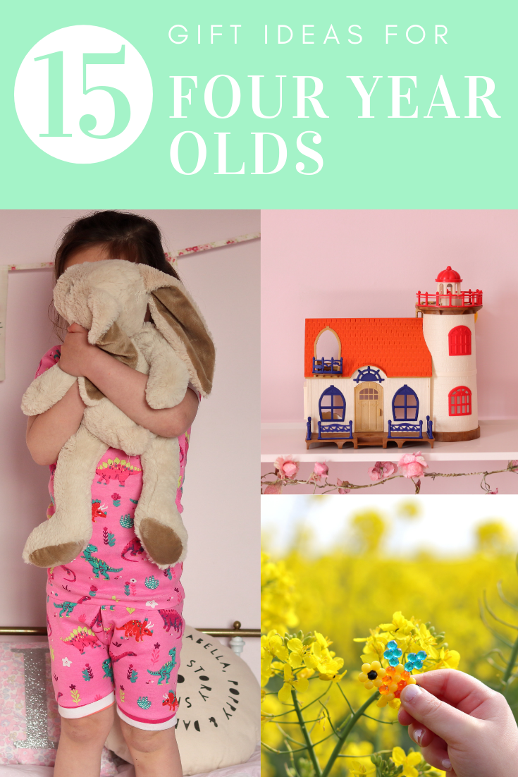 GIFT GUIDE: 15 Gift Ideas for Four Year Olds