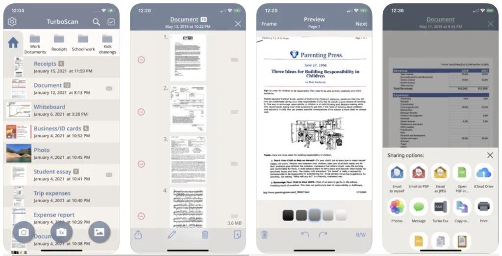 TurboScan™ Pro – Best Scanner App for iPhone