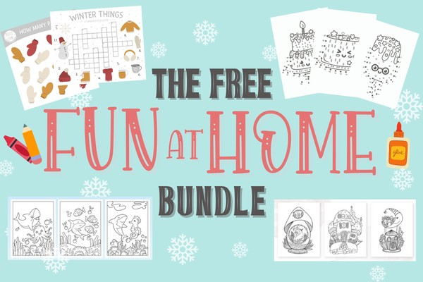The Fun At Home Bundle Graphics