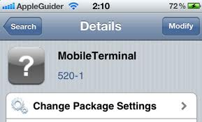 Mobile Terminal & Commands