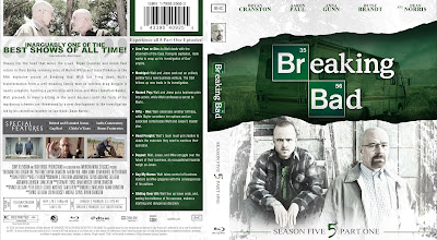 Capa Bluray Breaking Bad Quinta Temporada Parte 1 e Parte 2