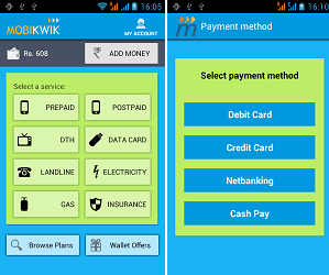 Mobikwik-android-app-working-screenshots