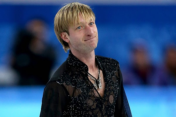Do Evgeni Plushenko broke the screw in the spine