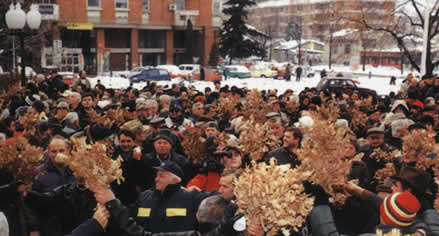 Macedonians celebrate Christmas Eve