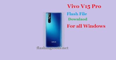 Vivo V15 Pro PD1832F Firmware