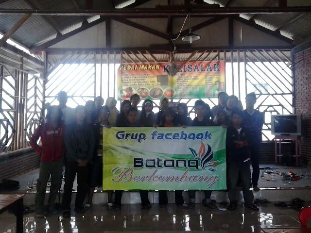 Halal bihalal Grup Facebook Batang