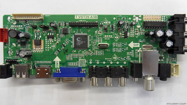 T.VST29.A3B Universal LED TV Board Firmware Download (All Resolutions)