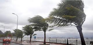 الرياح التي تهب بقوة على خط الاستواء