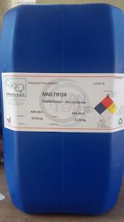 Multifox producto de limpieza desoxidante fosfatizante