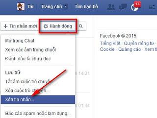 hướng dẫn xóa tin nhắn trên facebook hiệu quả nhất