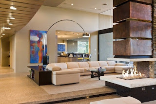 Estupenda sala decorada
