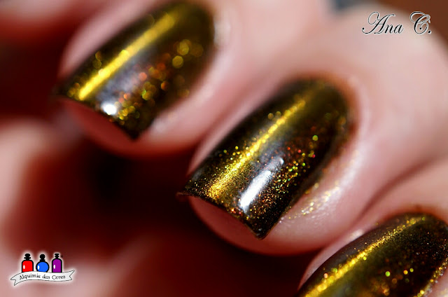 Revlon, Autumn Spice, Parfumerie, Top Magnetic Gold, Dance Legend, top coat magnético, Magnético, cat eye