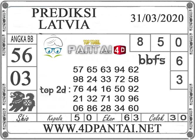 PREDIKSI TOGEL LATVIA PANTAI4D 31 MARET 2020