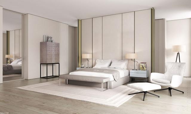 Ide Dekorasi Kamar Tidur Minimalis Yang Modern dan Praktis