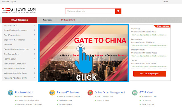 gate to china suppliers