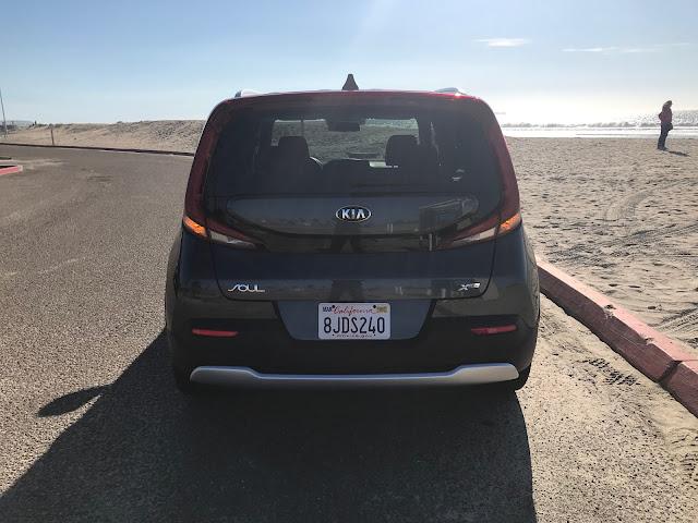 Rear view of 2020 Kia Soul