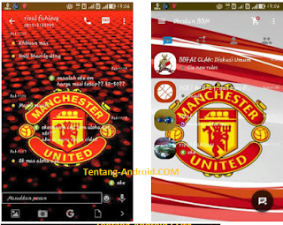 BBM MOD Manchester United Apk New Version