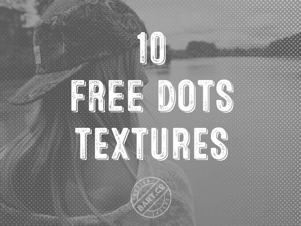 Download 10 Halftone Dots Photoshop Textures Free