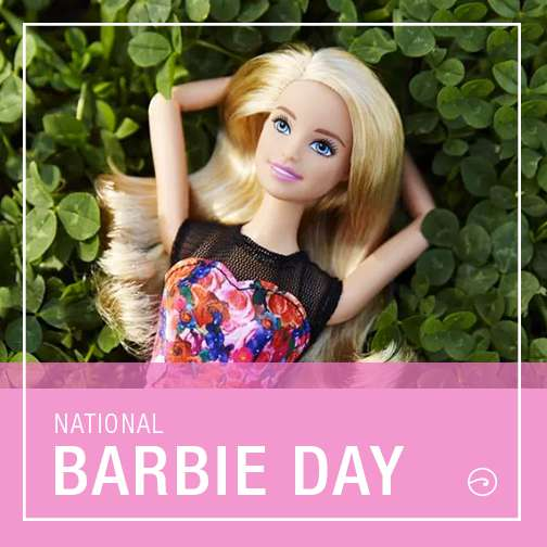 National Barbie Day Wishes Unique Image