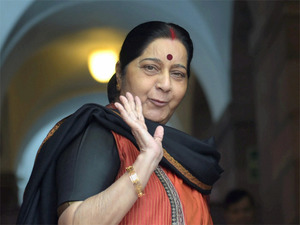 EAM Sushma Swaraj Left For China On 4-Day Visit For SCO Meet.