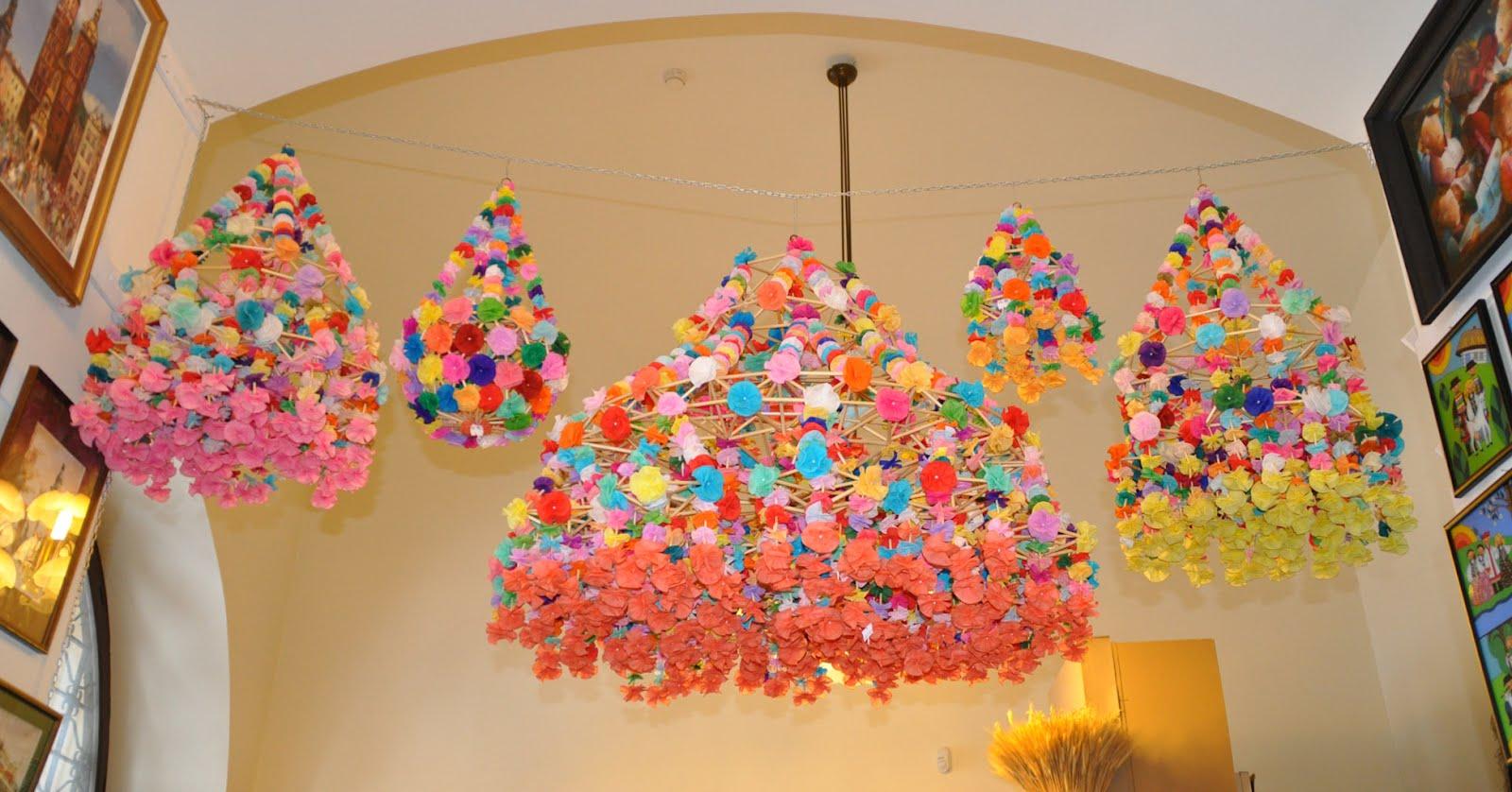Been Working On Recently It S Based The Polish Paper Chandeliers Or Pajaki That I Saw In Krakow Back January Below Though Much Simplified