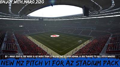 New MZ Pitch Turf V1 For AZ Stadium